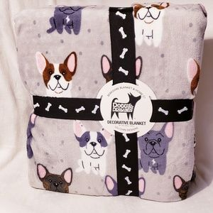 New Lili Chin Doggie Drawings Blanket